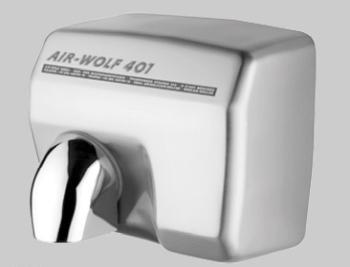 Uscator maini cu senzor, inox satinat, AIR-WOLF