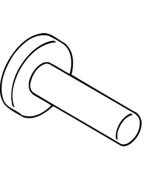 Suport orizontal hartie igienica 120mm Hewi-big