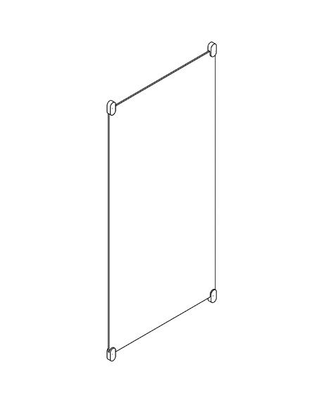 Oglinda dreptunghiulara sticla 1200x600x6mm Hewi-big