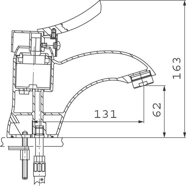 Baterie lavoar BTW2 Padwa-big