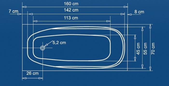 Cada 160x70 cm Linea-big