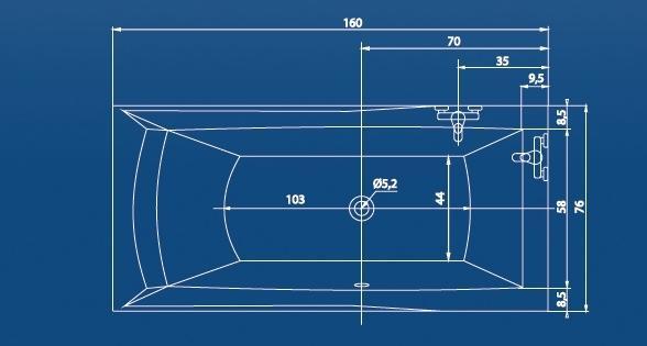 Cada 170x80 cm Orient-big