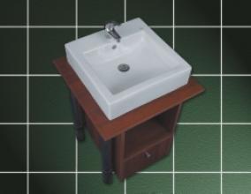 Lavoar 490 x 485 mm Barcares -big
