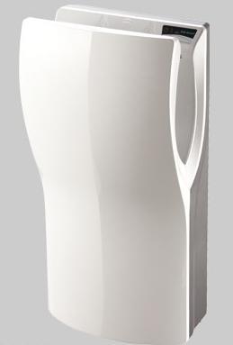 Uscator maini vertical,  ABS, alb, AIR-WOLF-big