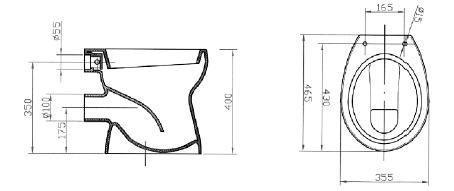 Vas WC 440 x 355 mm CIL-big